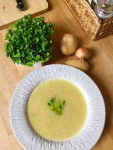 Basische Sauerkrautsuppe